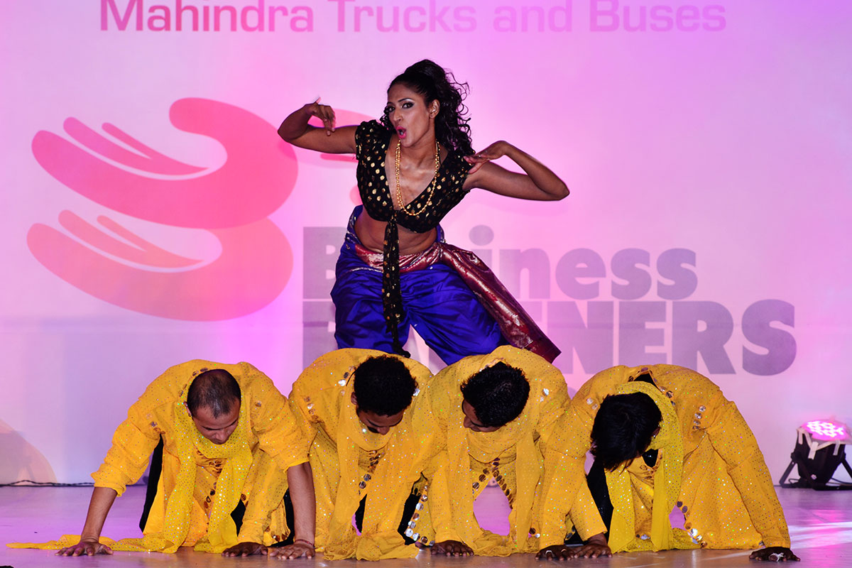 Stunning  performance by Bollywood diva