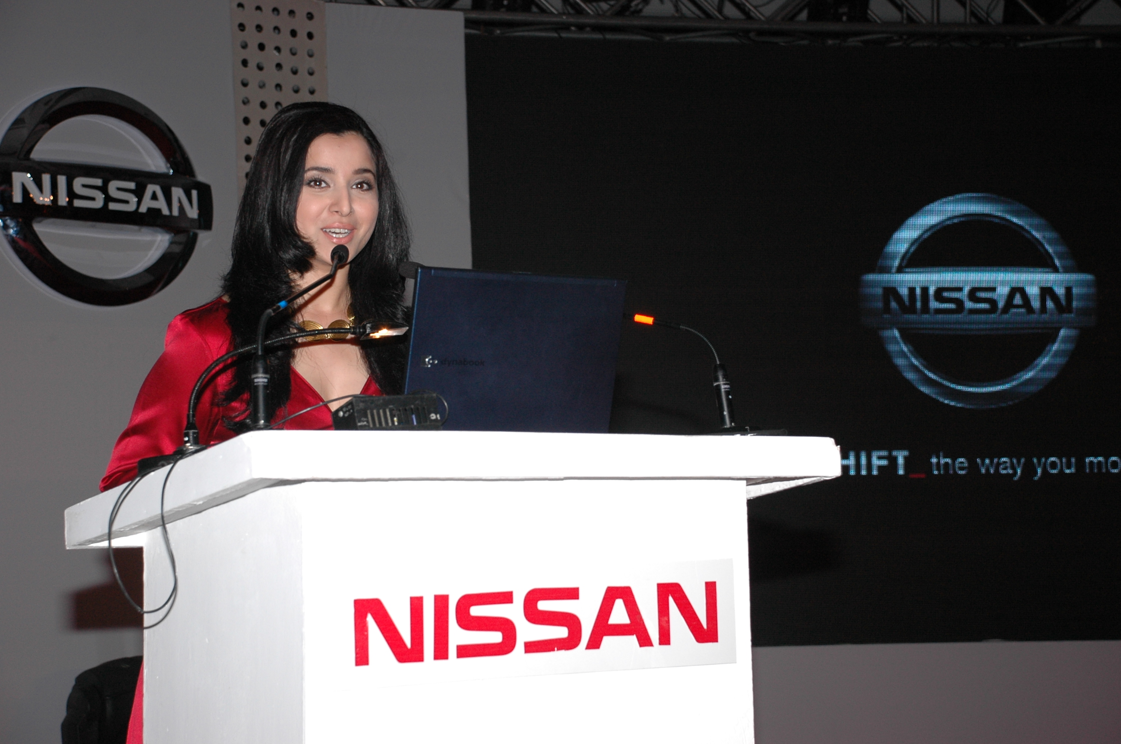 Grand launch of Nissan