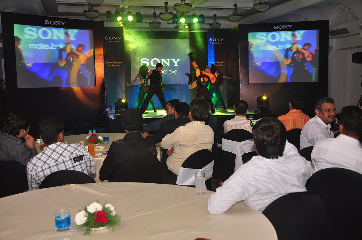 Sony A mega-event in an enigmatic city.