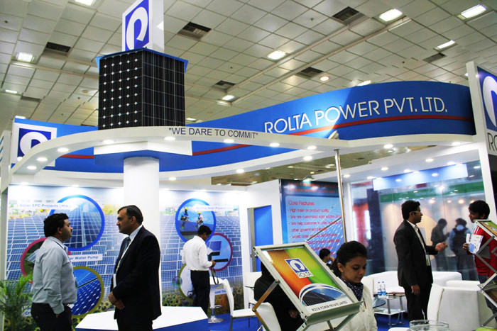 Rolta Power Renergy expo at Chennai