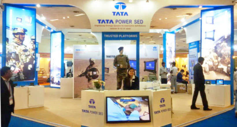 Tata Power Sed exhibition stall fabrication