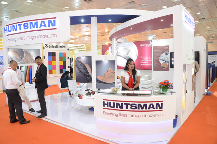 Huntsman IILF Exhibition stall fabrications