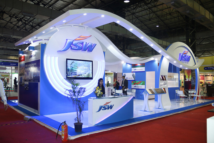 JSW METAL PRODUCT Stall design