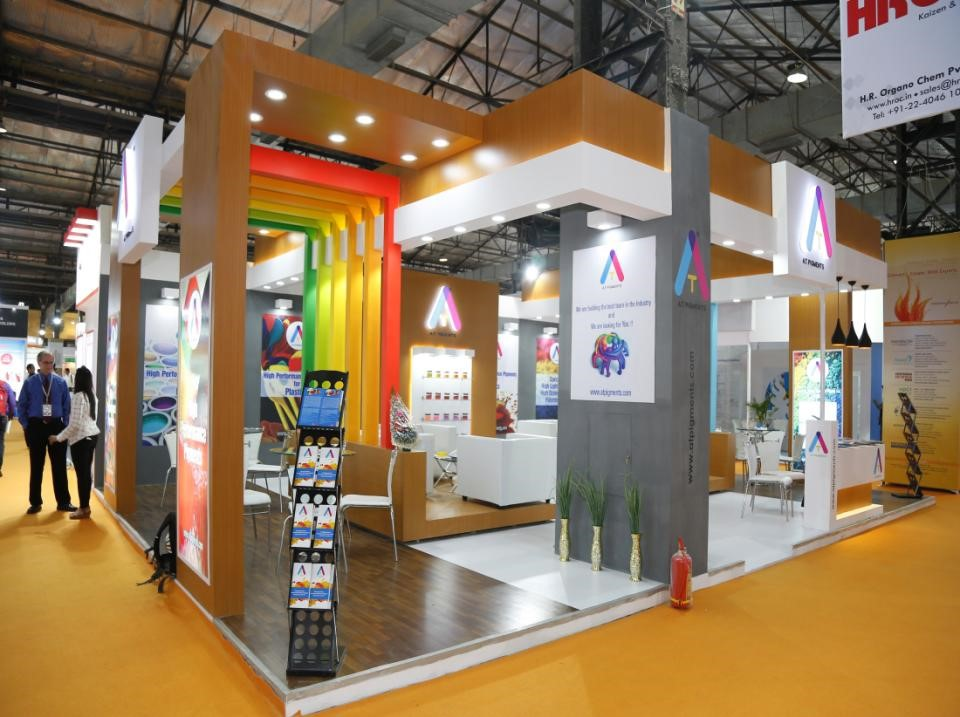 Exhibition Stall Fabricators In Jaipur : D exhibition stall design